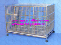 High cost-effective steel dog houses stainless steel dog cages