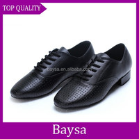 Best quality made in China men's ballroom latin dance shoes mens dancing shoes BC076