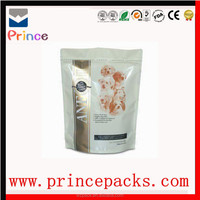 PE Food Packaging Bag/plastic bag with Rotogravure Printing, Made of PET/Aluminum/PE