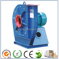 High temperature resistant centrifugal fan for fireplace