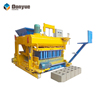 New design JMQ-6A large scale moving brick making machine for making concrete bricks