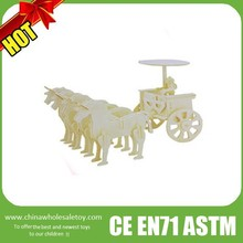 2016 wooden toy carriage