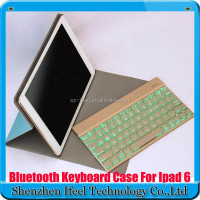 Removable Bluetooth Keyboard Ultra-Thin Case Cover for Apple iPad air 2/iPad 6