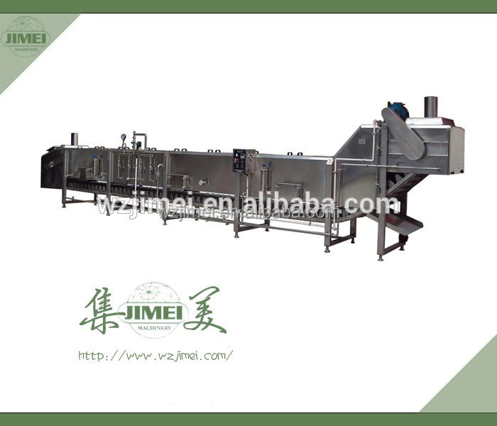 Trade assurance supplier fruit and vegetable continous Chain type blanching machines processing