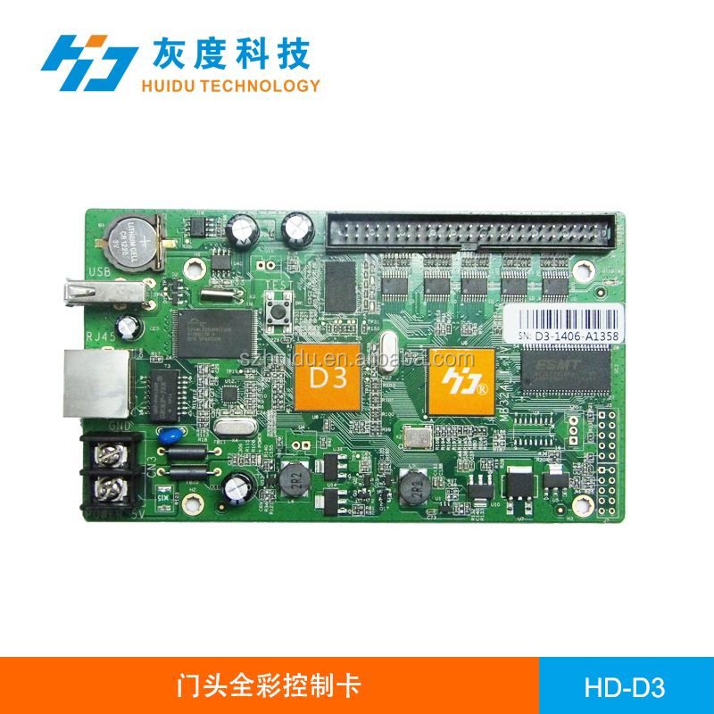 outdoor p10 video image moving signs asynchronous controller