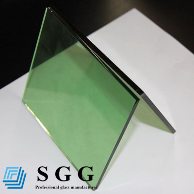 High Quality bathroom reflective glass, color blue, grey, green, bronze