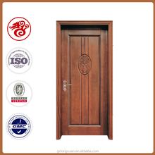 China classic wood carving door new design interior wood door veneer panel door for home