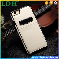 For iPhone 6 Case Retro Leather Skin Soft TPU Back Cover For iPhone 6s Case with Credit Card Slot Protective Mobile Phone Cases