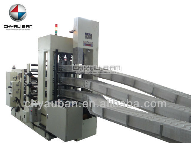 1/4 Fold Paper Napkin Tissue Machine