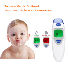 Amazon hot sale human health care product infrared forehead thermometer for baby monitoring
