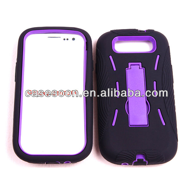 Heavy Duty, Two-Layer case plus Holster cover case for Samsung Galaxy S3 i9300