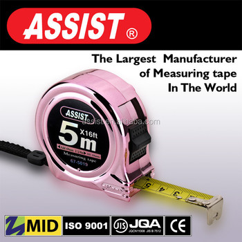 Salable in Asia market rubber elastic tape measure 5m steel tape