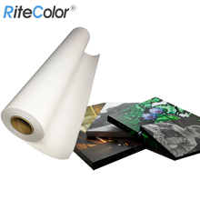 China Factory 260g Waterproof Matte Eco Solvent Polyester Canvas Roll Inkjet