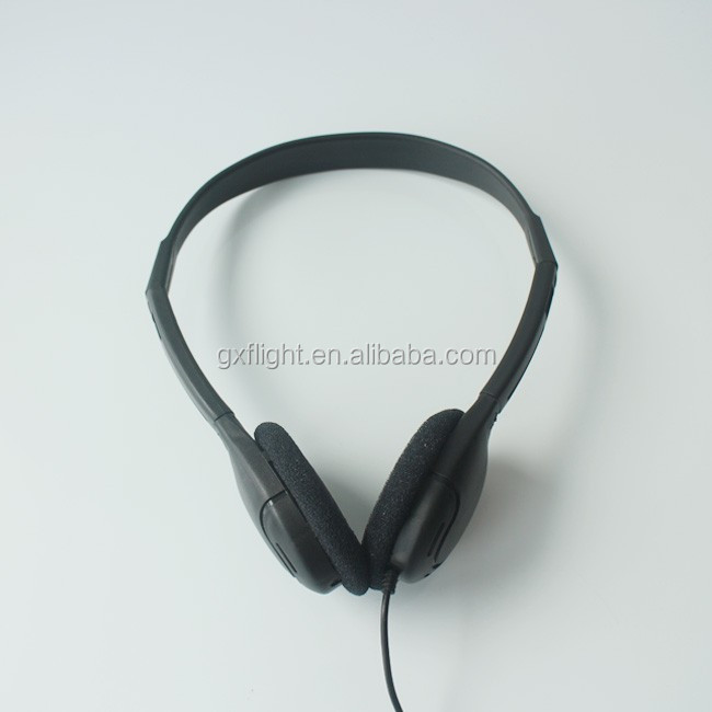 FS airline unique jack designed over ear headband headphones