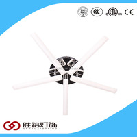 White Showroom Model Ceiling Light With