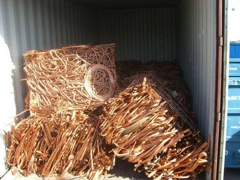 Copper Scrap #1, SGM Recycling