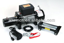 20000lb 12V 4x4 electric winch,12v dc motor for winch,longline jeep winch motor