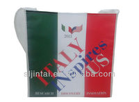 2013 Italy Flag non woven shopping bag