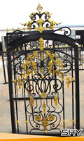 used wrought iron fence