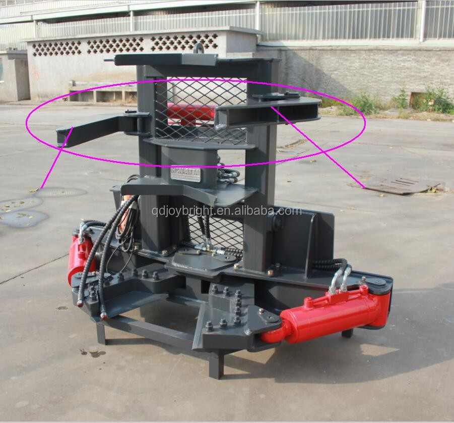 brush saw,tree shear for loader,attachments,tree saw