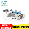 Commercial Linear Shape MFC Office Workstation