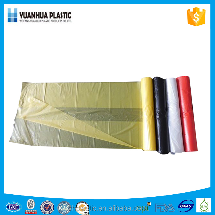 manufacturing HDPE plastic garbage bags for Home Use