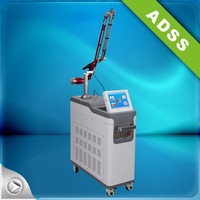 BEIJING ADSS High quality nd yag laser tattoo removal beauty equipment for pigment removal