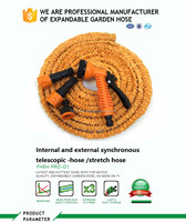 TOP quality as seen on TV expandable Magic expandable garden hose patented with elastic firbic