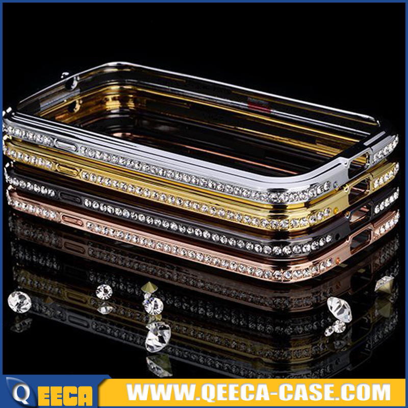Bling diamond aluminum metal bumper case for samsung galaxy s3 i9300