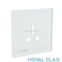 Customized switch transparent glass