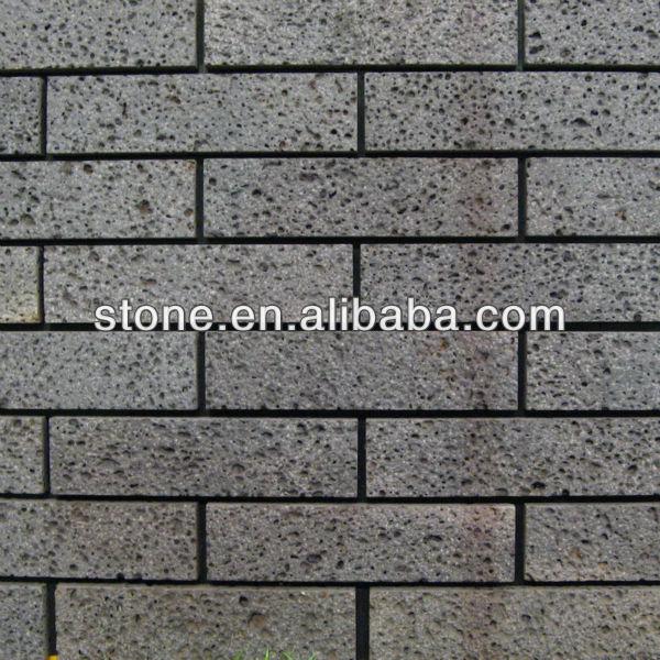 Acciaio anticato spazzola mattoni in pietra lavica piastrelle a parete basalto id prodotto - Piastrelle pietra lavica ...