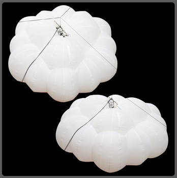 durable inflatable ceiling balloon, led lighting decoration