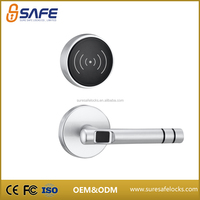 The most reliable wifi electronic card reader dimple key door lock