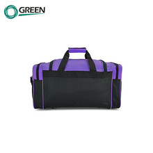 Custom Zipper Gym Polyester Travel Sports Bag
