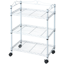 Kitchen Chromed Adjustable Display Wire Shelving Rack with CE JS-WS14