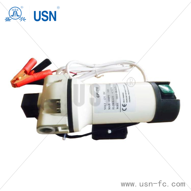 24V Mini Diaphragm AdBlue pump with Pressure Switch