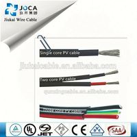 TUV and ISO service EU standard solar cable, pv1f solar cable, insulation materials of underground cables