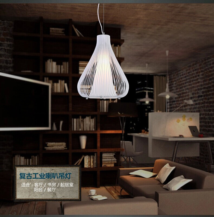 Maso Iron Material aisle Decorative Pendant Light with PVC Cover MS-P4004 E27 ceramic Base