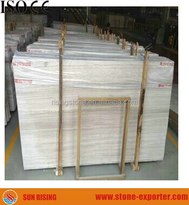 dark yellow color wood vein marble for sale