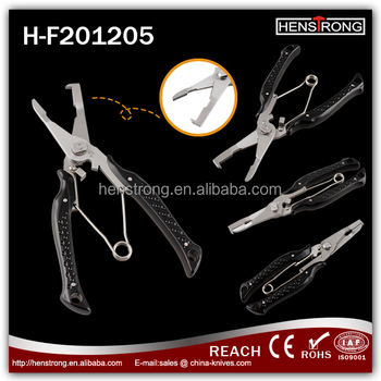 Alibaba Com Made In China Aluminum Fishing Pliers Witha Black Handle
