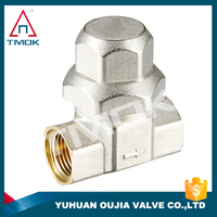 TMOK Y Type Brass Pipeline Water Filter Dn25 Y Strainer And Thread Material Hpb57-3 And High Quality
