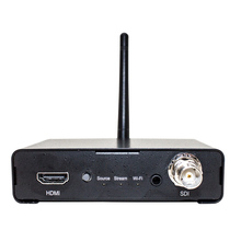 HDMI and SDI video inputs Wifi H.264 live streaming and recording video encoder