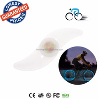 ALONEFIRE 2015 NEW! WL-02 Cool Bike lights Bicycle Spoke blue LED Bicycle Bike Cycling Bikes security warning lamps Lights
