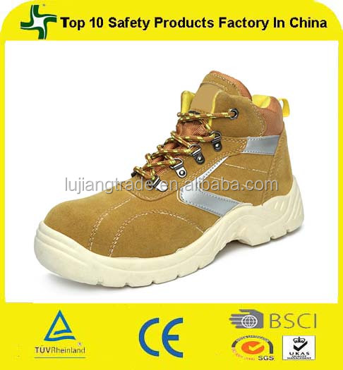 PU outsole material building used mid cut takumi safety shoe