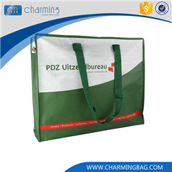 Top selling OEM design white reusable eco-friendly woven bag