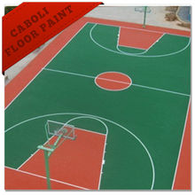 China factory directly Caboli acrylic basketball court coating