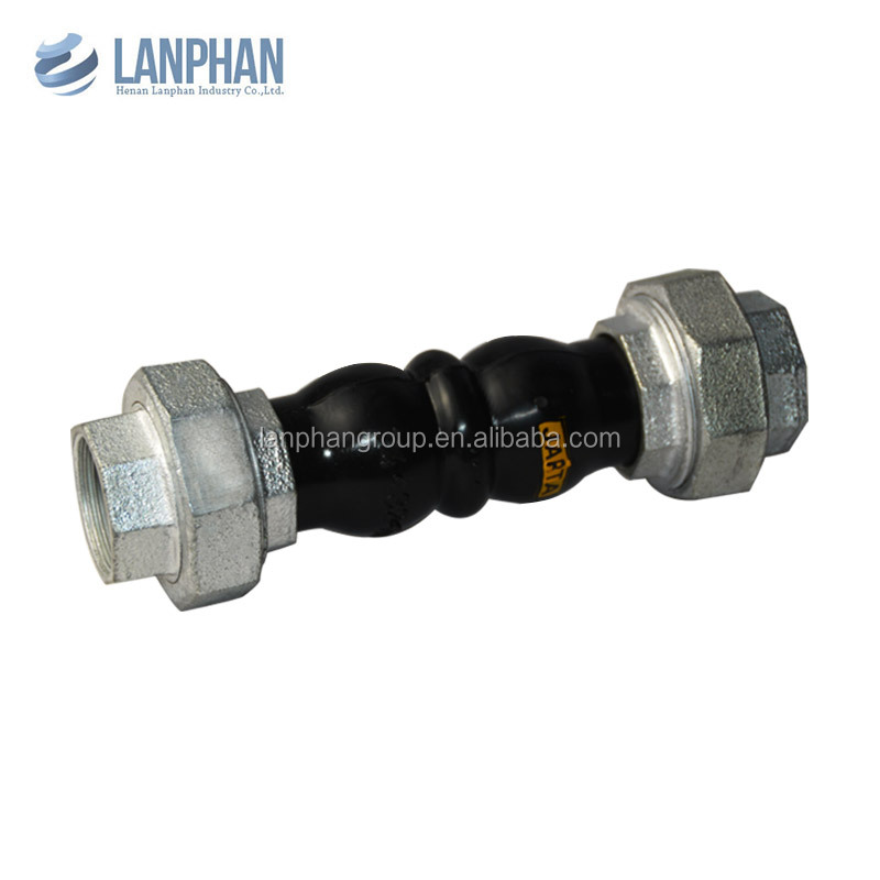 reliable quality screwed rubber expansion joints for irrigation