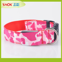 2015New fashion lighted dog different sizes led dog collar /factory direct sales