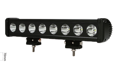 Top Sale 20W Single Row LED Light Bars with unmatchable Long Distance Illumination