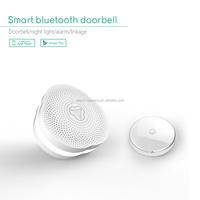 APP smart control turn on/off night light on doorbell host smart bluetooth doorbell security for home/store